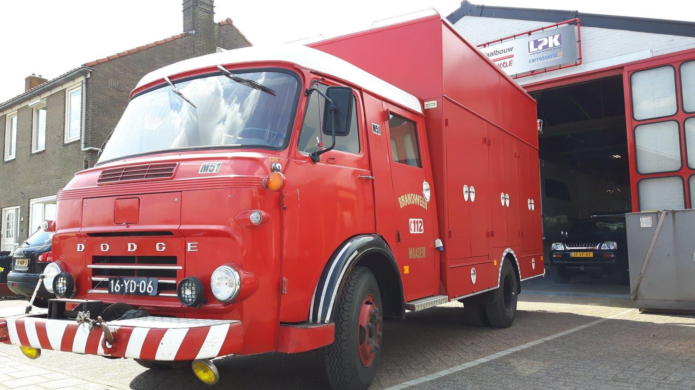 Dodge brandweerwagen