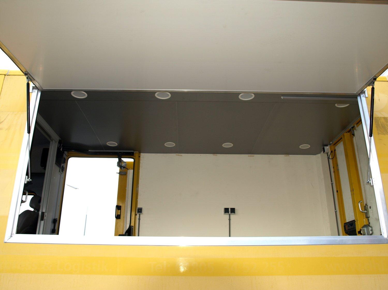 Plafond met LED verlichting
